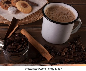 The coffee in Mexico is one of the most exquisite pleasures, nothing richer than a cappuccino in the morning, the cinnamon will give a special touch now breakfast!