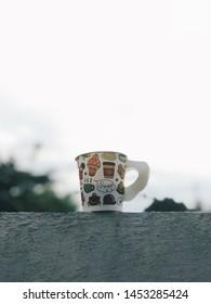 Coffee morning VSCO sky green