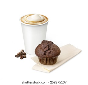 coffee with a muffin