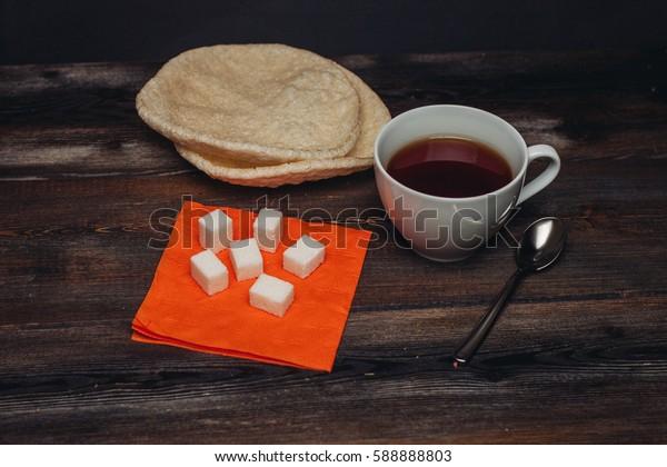coffee mug tea sugar .