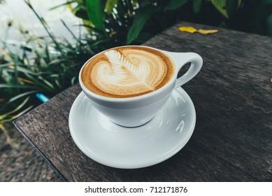 Coffee nature latte