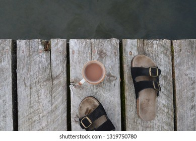 Coffee on the Dock
