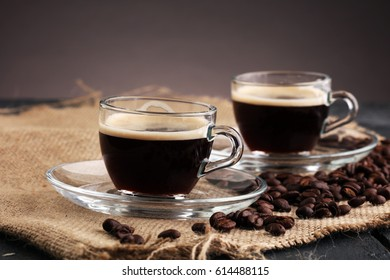Coffee on Table, Cafe, Coffee Bean