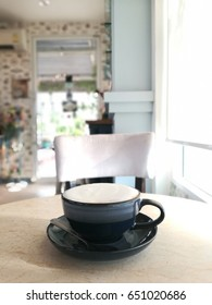 coffee on the table in good window light