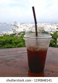 coffee pattaya thailand town sea