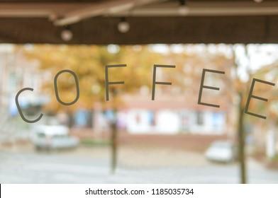 Coffee poster advertisement