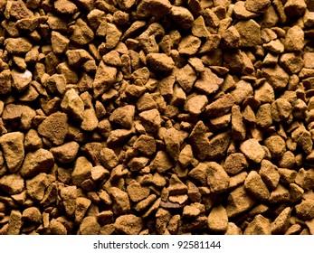 coffee powder closeup