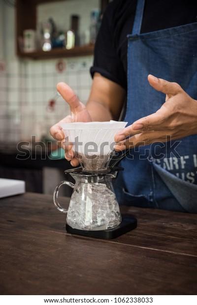 coffee preperation process, iced coffee