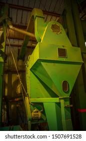 coffee roaster grinder sorter, plantation machinery in hawaii big island