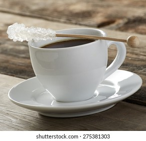 coffee with rock candy