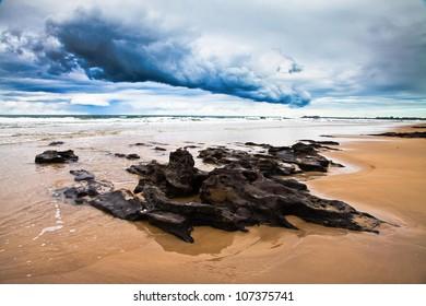 Coffee Rocks in Storm