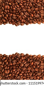 coffee seed frame ; close-up