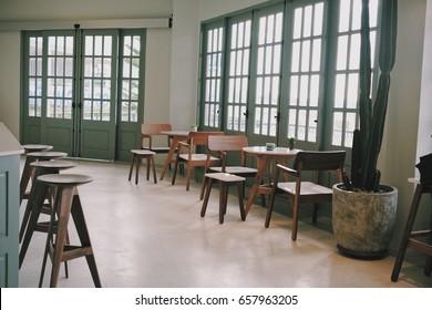 Coffee shop, interior, bistro