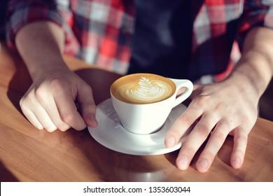 Coffee Shop Latte Art