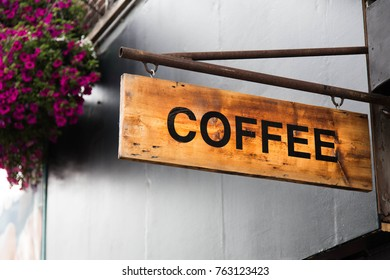 COFFEE SHOPS AND SIGNS