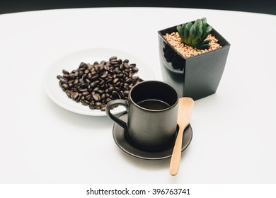 Coffee with a small tree