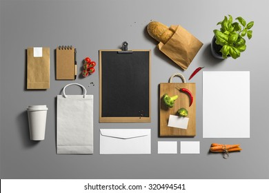 Coffee Stationery, Branding Mock-up, with clipping path, isolated, changeable background