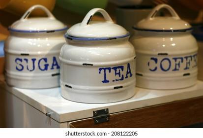 Coffee; Sugar; Tea