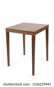 Coffee table on white background