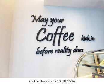 A Coffee Tagline