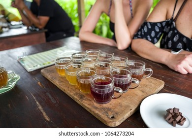 Coffee and tea tasting in Bali