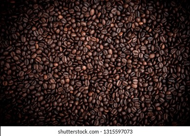 Coffee texture/pattern, taken from above, top view it has little or no blur