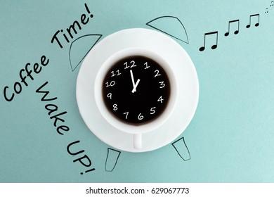 Coffee time. Wake up,
