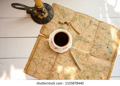 Coffee and traveling