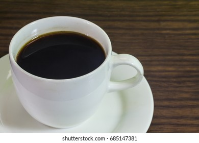 coffee White glass