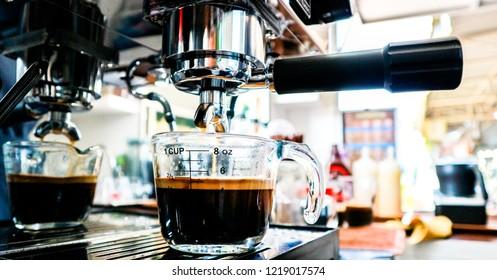 coffeebean americano espresso