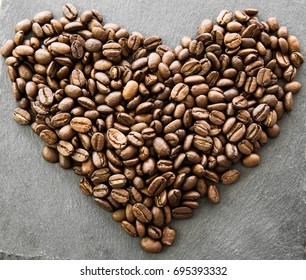 coffeebeans heart