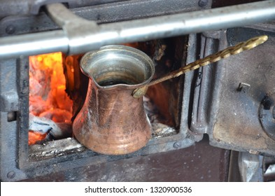 coffeee in the embers