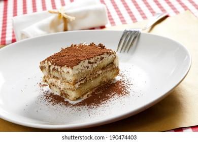 coffee-flavoured Italian dessert tiramisu