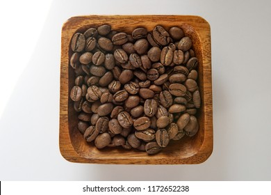 Coffie bins on the table