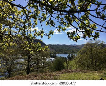 Coffin Trail, Rydal Water and Grasmere, Lake District, Cumbria, England