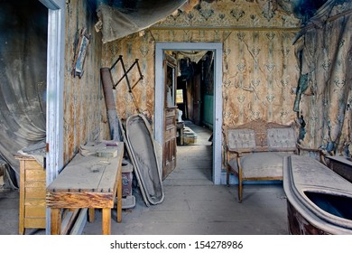 Coffin-maker's house, Bodie Ghost Town, California.
