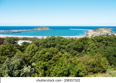 Coffs Harbor landscape in  New South Wales, Australia