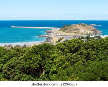 Coffs Harbor landscape in  New South Wales, Australia
