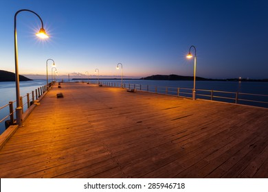 Coffs Harbour Jetty at Dawn