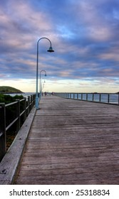 Coffs Harbour Jetty in Northern NSW, Australia