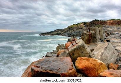 Coffs Harbour and Mutton Bird Island in Northern NSW, Australia