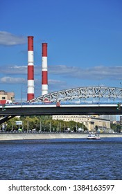 Cogeneration Plant and Bridge Over The Moscow River