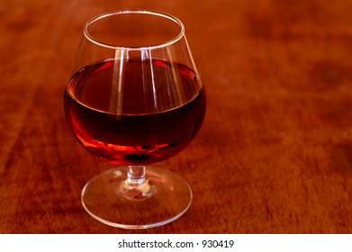 Cognac glass Atmospheric series IV