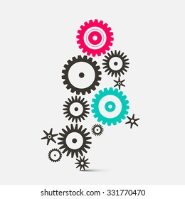Cogs - Gears Technology Icons