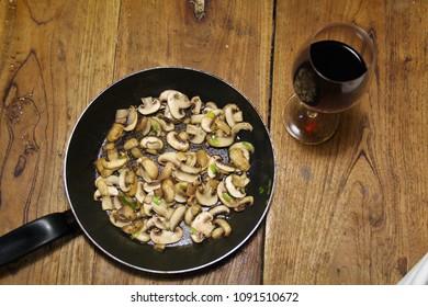 Cogumelos e Vinhos