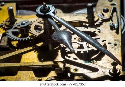 Cogwheels in a clockwork