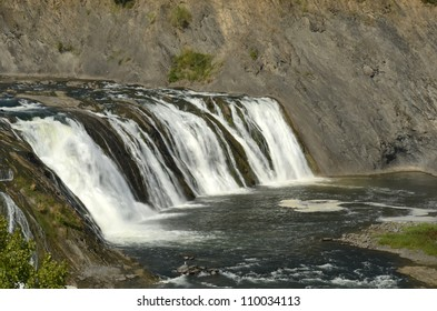 Cohoes Falls in Upstate New York