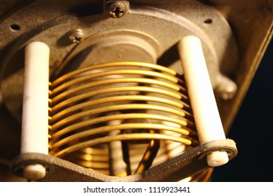 Coil or Inductor in RF-Stepping  circuit , Coupler antenna , Avionics equipment in aircraft with maintenance.