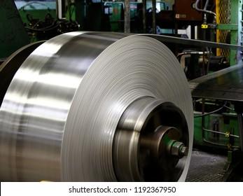 Coil of metal sheet