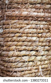 Coiled Straw Rope